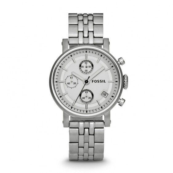 Ceas Fossil Boyfriend ES2198 Chronograph Stainless Steel