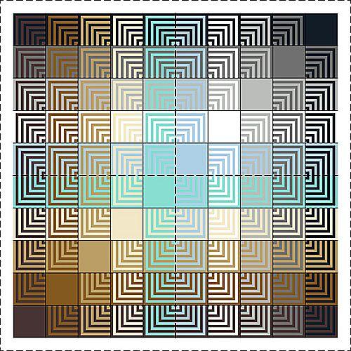 better colors and arrangement for Hue Shift Afghan  (knit picks)