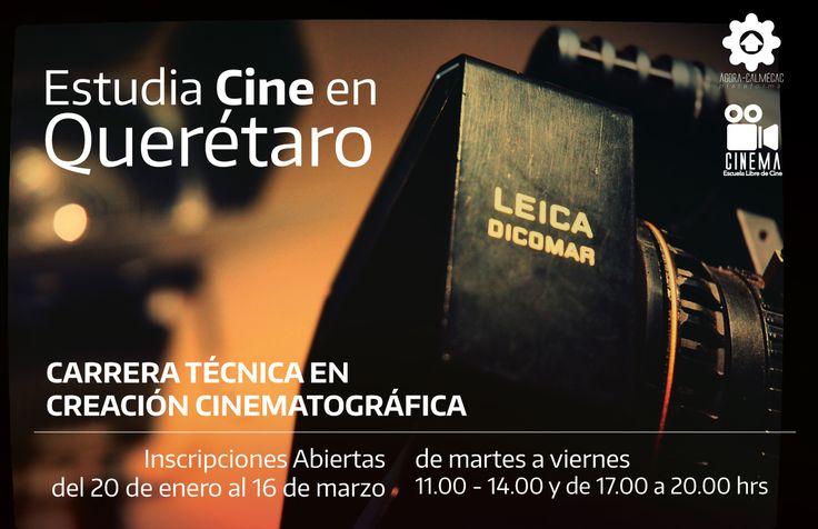 Estudia cine en Querétaro