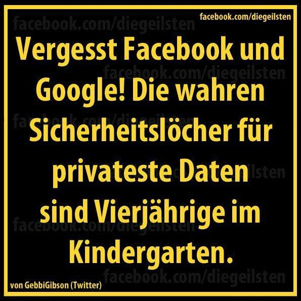Thats true!! Kindergardeners are indeed the biggest security hole!