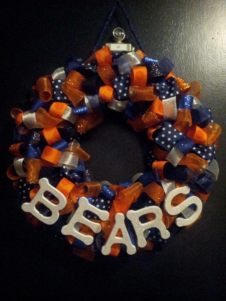 Chicago Bears Da Bears Wreath
