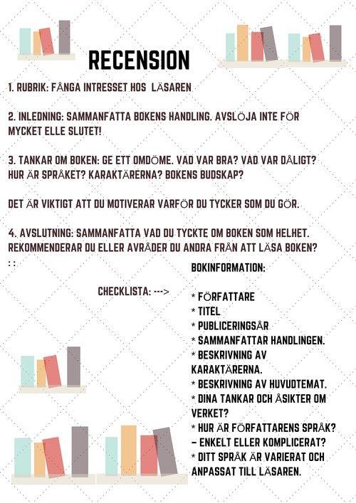 Gabriellas svenska - Texttyp: Recension