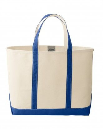 Simply add their monograms and you will have a personalized present made for the beach and beyond.   L.L. Bean Tote Bag,  llbean.com