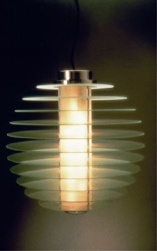 Gio Ponti designed this fabulous lamp for Fontana Arte in 1931.