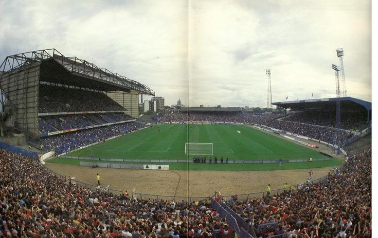 Stamford Bridge - the new East Stand as was, which nearly sunk the Blues.....