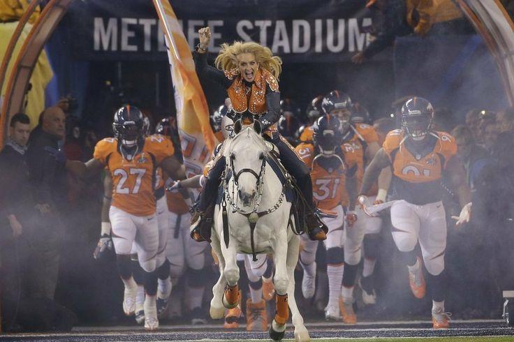 Las mejores fotos de la Super Bowl XLVIII