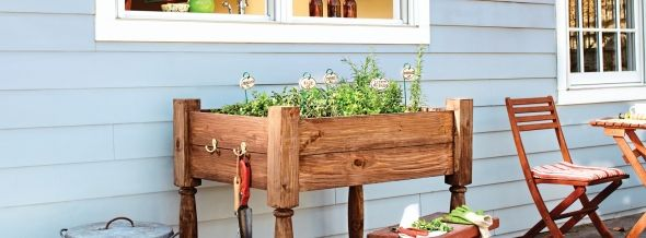 How to Build a Raised Herb-Garden Planter