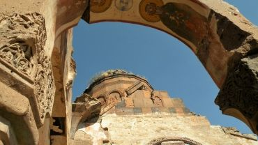 Armenian church in Ani, Eastern Turkey