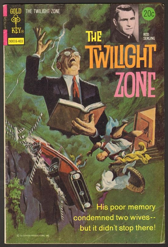 The Twilight Zone Comic #55  Publisher: Gold Key Comics  Date: March 1974