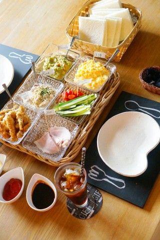 準備も簡単♪皆で楽しい♪手巻サンドシナイッチでおうちカフェランチ☆彡|暮らしニスタ