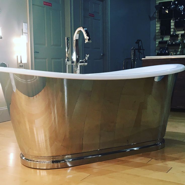 Crosswater soaker tub. One of our new product lines from London for the 2017 season.