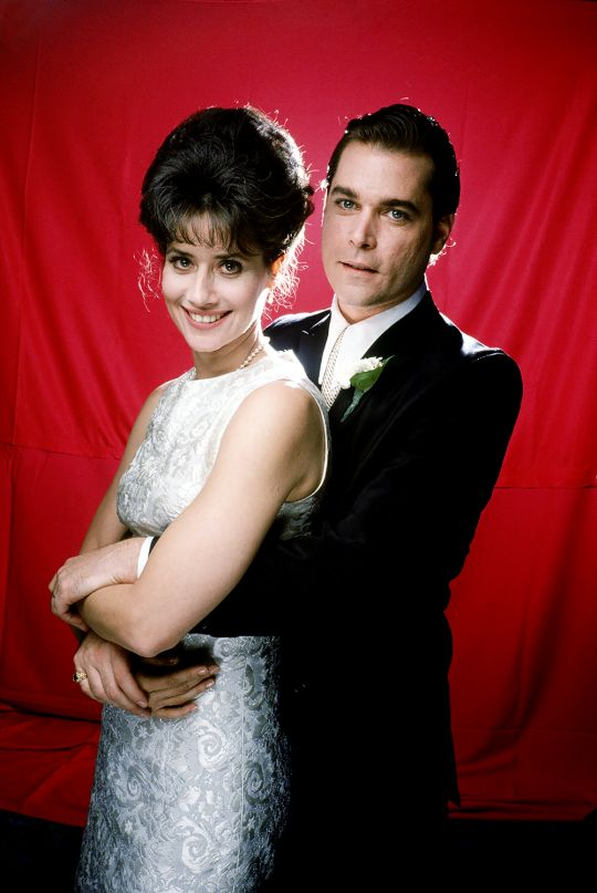 Lorraine Bracco & Ray Liotta in 'Goodfellas' (1990)