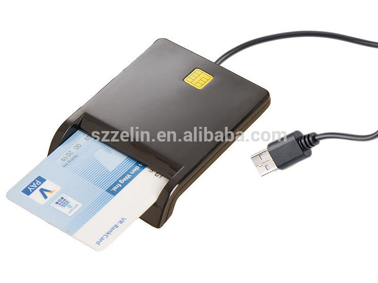 New EMV USB Smart Card Reader DOD Military USB Common Access CAC Smart Card Reader ISO7816 For SIM /ATM/IC/ID Card