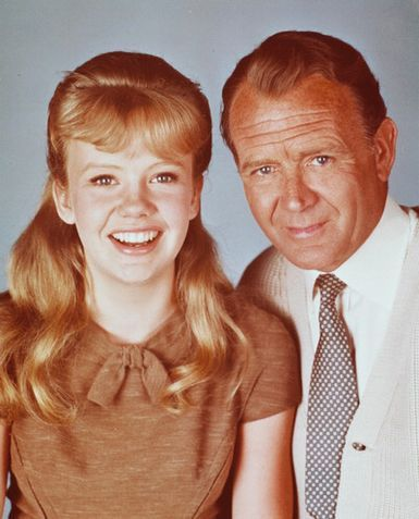 Hayley & John Mills - Hayley Mills, younger daughter of the famous actor John Mills, sister of Juliet Mills ('The Nanny and the Professor'), she tugged at our hearts in 'Pollyana,' made us laugh in 'The Parent Trap' & 'That Darn Cat' & typified the mid-60s teenager in 'The Trouble with Angels.'