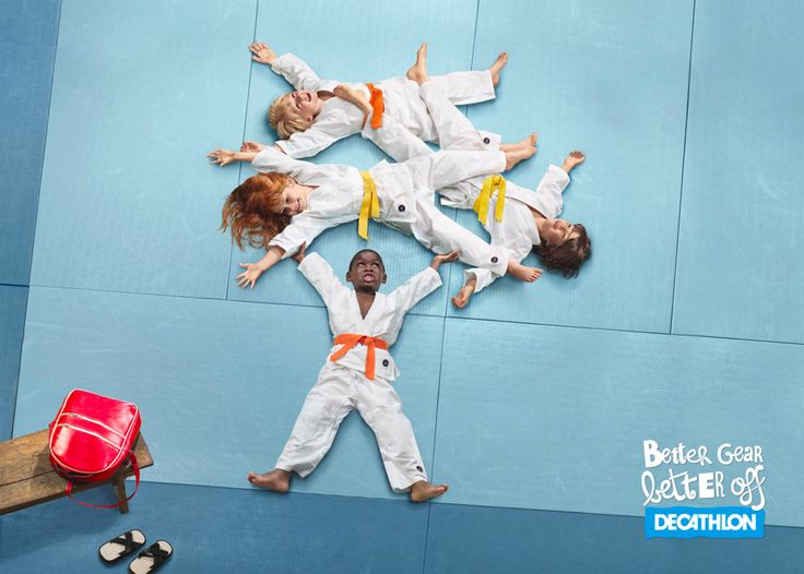 Decathlon: Better gear, 2 Advertising Agency: Young & Rubicam France Creative Director: Les Six Art Director: Julien Vallon Photographer: Louis Decamps Retoucher: Chic Paris Copywriter: Montassar Chlaika
