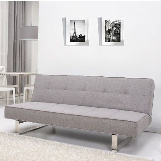 Strausbourg Four Seater - A contemporary and minimalist sofa that's also ideal for smaller set-ups as an occasional guest bed. Simply fold out to turn into a comfy bed for one or a cosy bed for two.