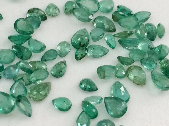 WHOLESALE 2 CTW Emerald Stones Natural Loose by gemsforjewels