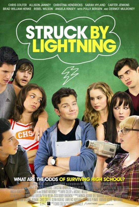 Struck By Lightning. Just watched it on Netflix. A good movie to watch. It has Chris Colfer and Rebel Wilson!
