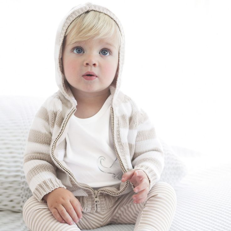 Baby boy striped outfit (thewhitecompany.com)