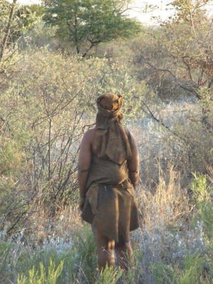 San Bushmen tribe, Kalahari, Botswana