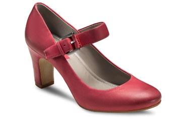 Ecco Omora Mary Jane Chili Red