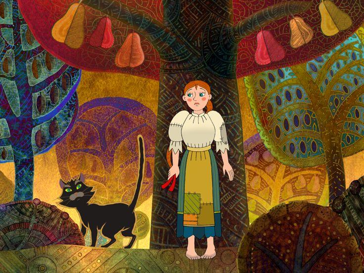 Az elátkozott kastély, magyar népmesék, Hungarian folk tales