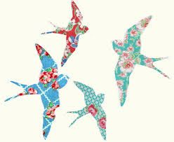 Image result for swallow bird applique pattern