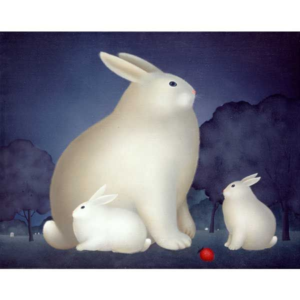 """Rabbit Family"" by Igor Galanin"