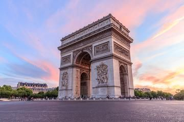 Arc de Triomphe: Great place to see the entire city from above