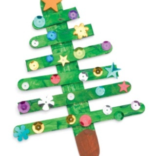 Lolli stick Christmas tree