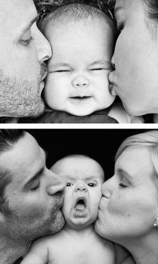 Babyfotos - Erwartung vs. Realität