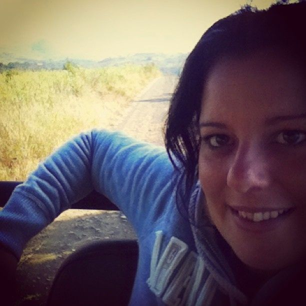 Kicking back on the game drive #southafrica #gamedrive