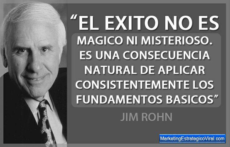 Frases Célebres de Jim Rohn