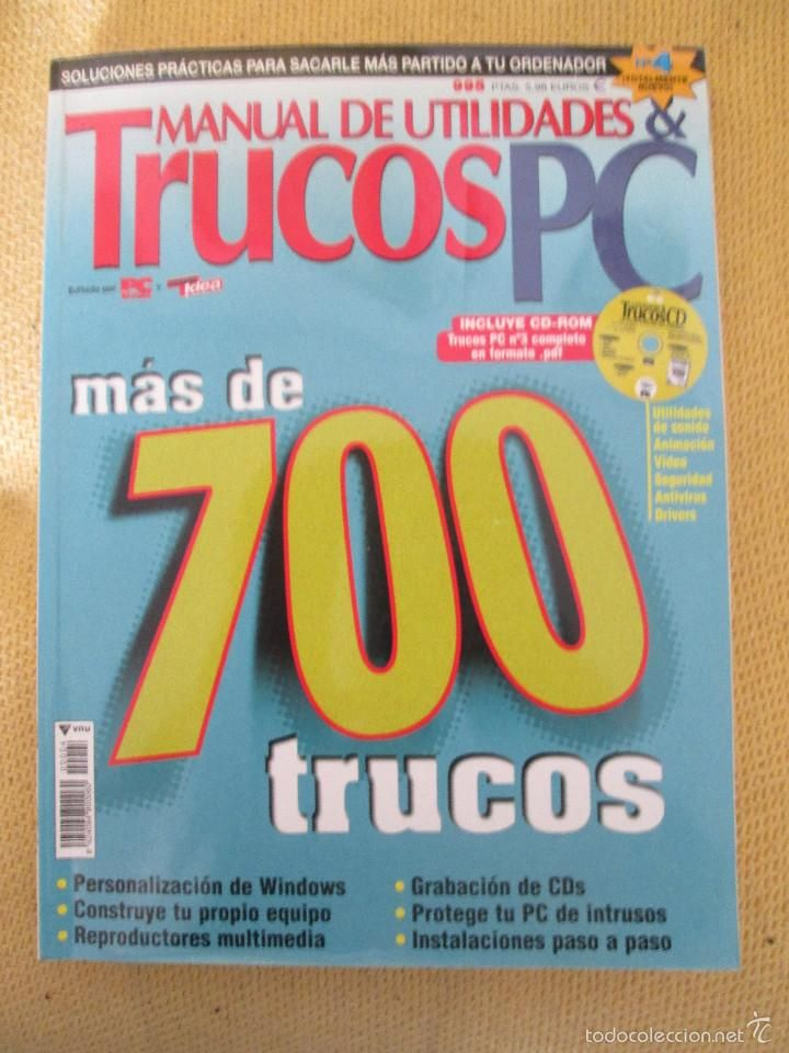 PC ACTUAL -MANUAL DE UTILIDADES Y TRUCOS PC Nº 4