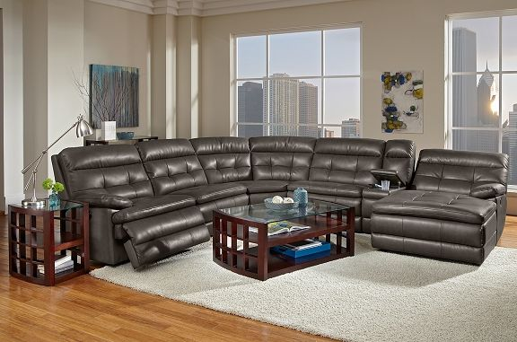 American Signature Furniture Commander Leather