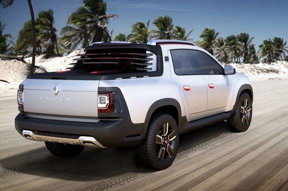 Mirá la Duster pick-up y los nuevos Fluence y Sandero - MDZ Online