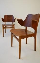 Hans Olsen Danish teak chair