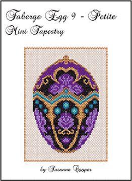 Faberge Egg 9 Petite Mini Tapestry, Sova Enterprises