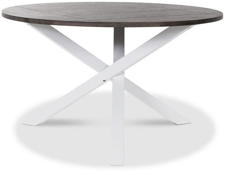 Köp - 2490kr! Skagen soffbord 85 - Vit/brunt. Skagen Soffbord från Skånska Möbelhuset med vitt underrede och skiva