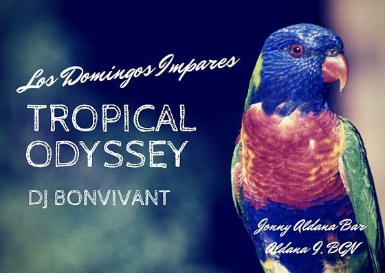 Tropical Odyssey by #DJBonvivant @Jonny Aldana Bar