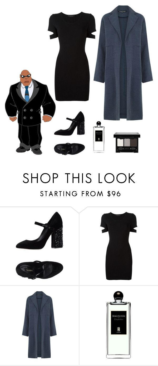 """""""Cobra Bubbles"""" by kimmmeo ❤ liked on Polyvore featuring Dolce&Gabbana, Alexander Wang, Warehouse, Serge Lutens and NYX"""