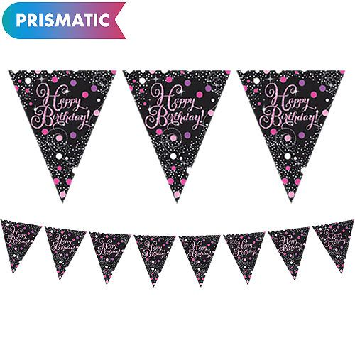 13th 16th 18th Birthday Supplies Party City Birthday Pennant Banner 50th Birthday Party Supplies Birthday Supplies