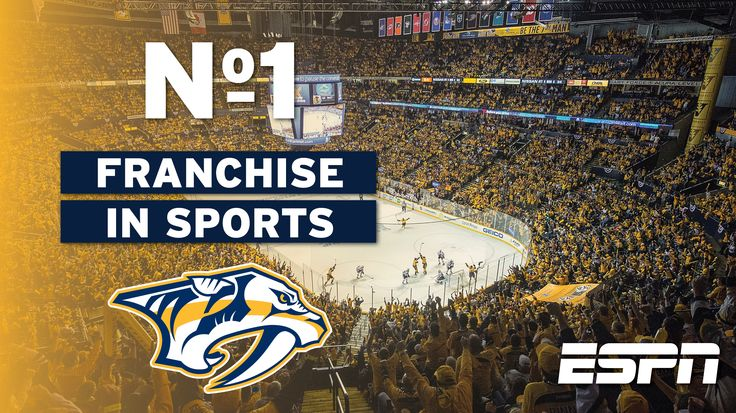 ESPN Ranks Predators as No. 1 Franchise in All Sports