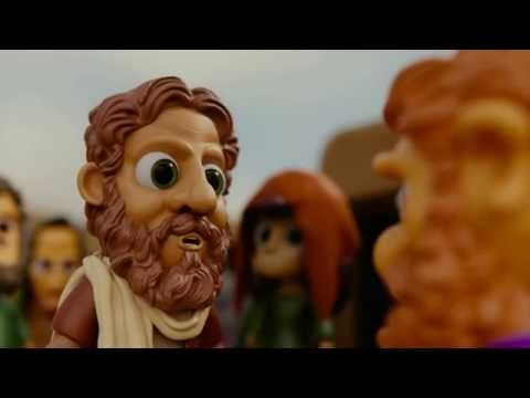 Zacchaeus - Little Clay Bible - YouTube. This is what I'll use at EK LL.