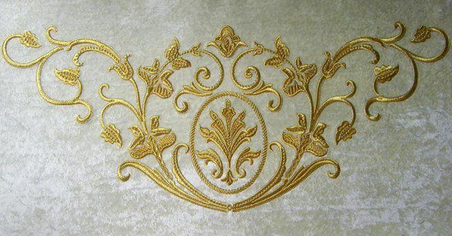 Вышивка в интерьере - Машинная вышивка Марины Бориско на заказ
