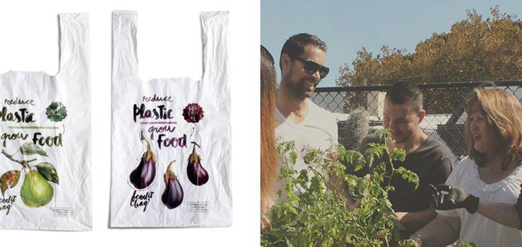 Ces sacs plastiques biodégradables font pousser des légumes via @creapills