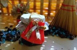 AMU-006 – Mărturie borcănel divă cu poșetă #marturii #nunta #botez #dulceata #borcanel