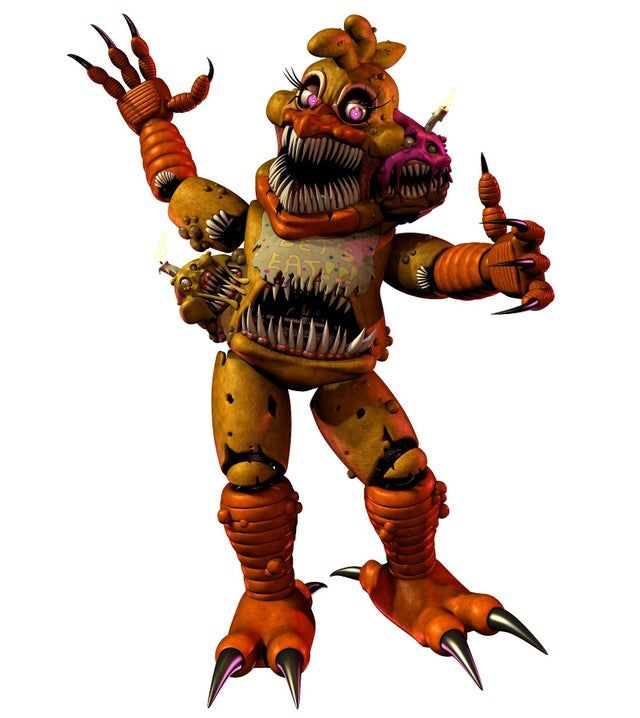 Twisted Chica Model Literally Created To Represent My Hunger For Chicken Wings Fivenightsatfreddys Fnaf Wallpapers Fnaf Fnaf Drawings