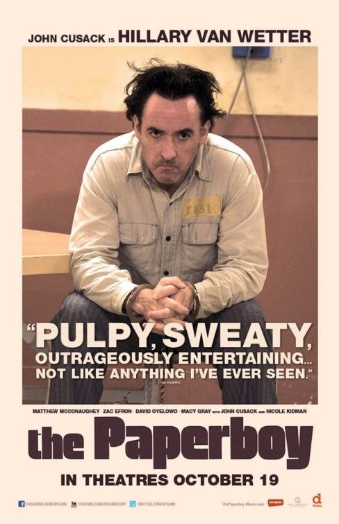 John Cusack in The Paperboy. I cannot wait to finally see this film!!!