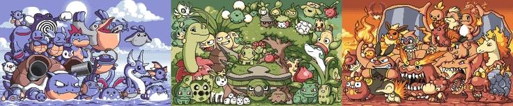 Pokemon type sprites!